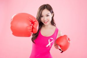 Awareness of breast cancer gave her strength to fight.