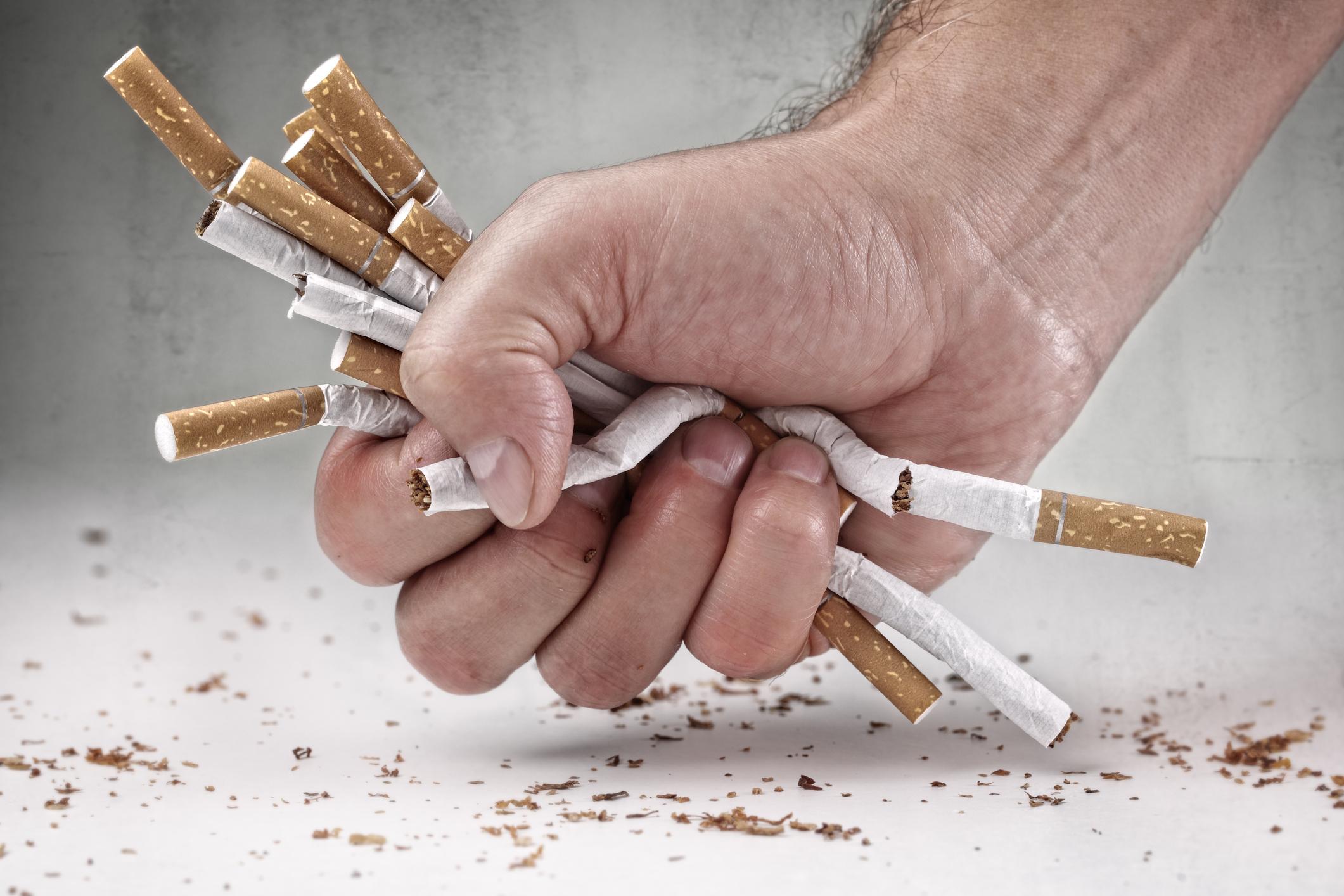 quit smoking asthma