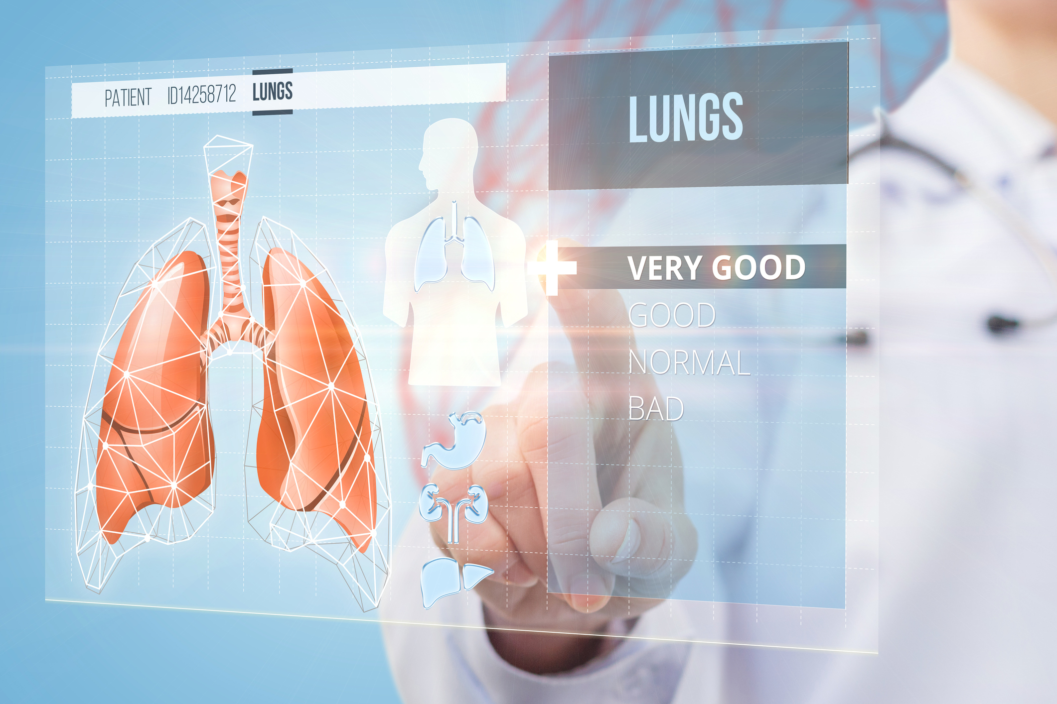 The Doctor Determines The State Of The Lungs Florida Lung Asthma