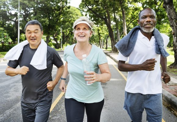 Heart healthy exercise 2.5 hours per week is your February Pledge.